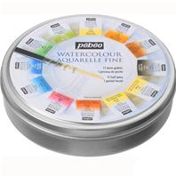 Aquarelle fine - 12 couleurs