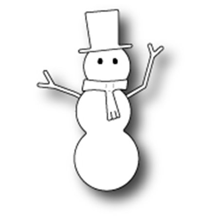 Die - Bundled Snowman