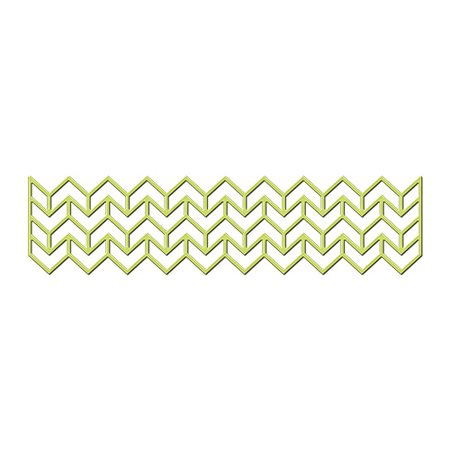 Shapeabilities - Chevron border