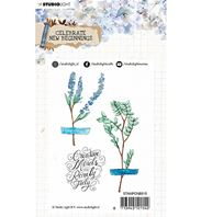 Clear stamp - Celebrate new beginnins - Feuillages