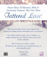 Tattered Lace Die - Advent Calendar