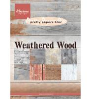Pretty Papers Bloc - Weathered Wood