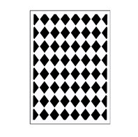 Mini Embossing Folder - Classy Diamonds