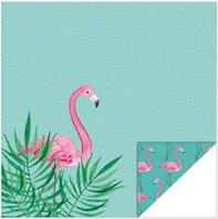 Papier - Inspiration Tropicale - Flamant rose
