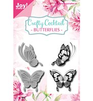 Cutting die & Stamps - Butterflies