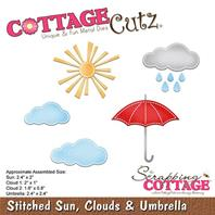 Cottage Cutz - Stitched Sun