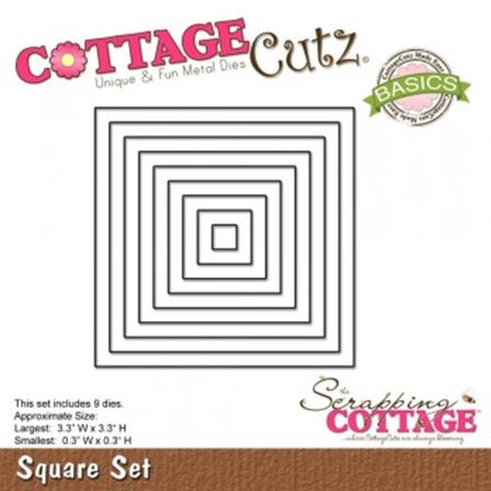 Cottage Cutz - Square Frame Set