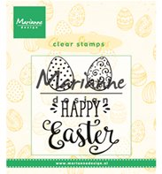 Clear Stamps - Happy Easter