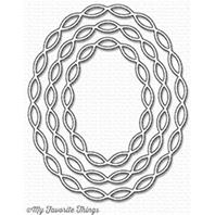 Die-namics - Linked Chain Oval Frames