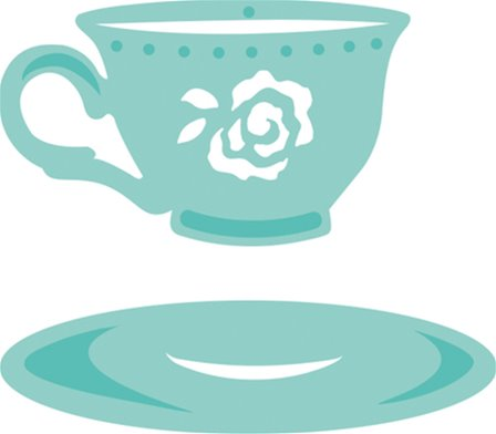 Decorative Dies - Cup & Saucer