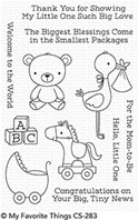 Clear Stamps - Hello, Little One
