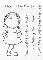 Clear stamps - Cute a Tude
