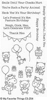 Clear stamp - Party Animals