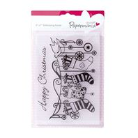 Embossing folder - Stockings