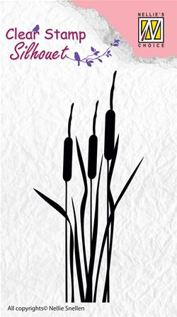 Clear Stamp - Bulrushes