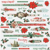 Border Stickers - Country Christmas