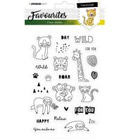 Clear Stamp - Favourites - Tropical Jungle 333