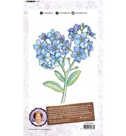 Clear stamp - Art collection -Time to Relax - Hortensia