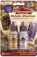 Alcohol Ink -Metallic mixatives - Or Argent