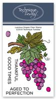 Clear Stamp - Luscious Grape