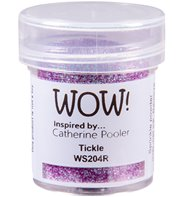 Wow! Embossing Powder Glitter - Tickle