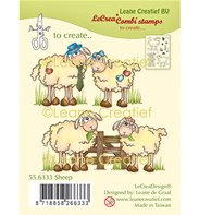 LeCrea Stamps - Sheep