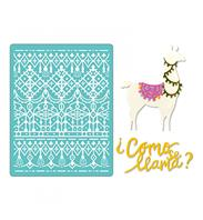 Thinlits & Embossing Folder - Como se Lama
