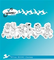 Clear Stamps - Summer Kids