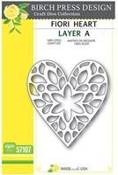 Craft Die - Fiori Heart - Layer A