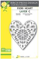 Craft Die - Fiori Heart - Layer C