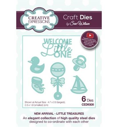 Craft Dies -New Arrival - Little Treasures