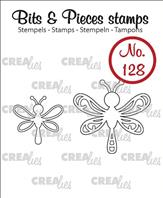 Crealies Clear Stamp - libellules