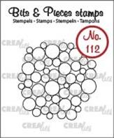 Crealies - Clear stamp - Bulles
