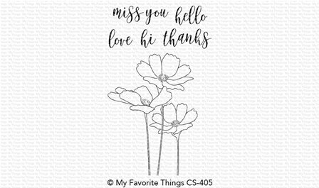 Clear Stamps - Flowers in Bloom