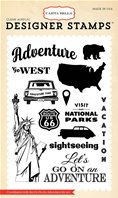 Clear stamp -Go on an adventure
