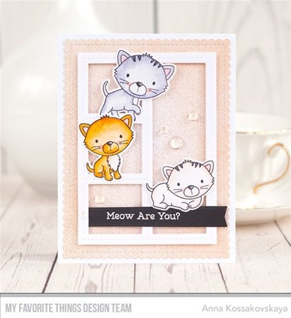 Clear Stamps -Smitten Kitten