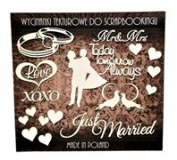 Chipboard - Just Married