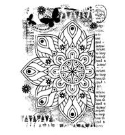 Clear Stamp - Ancient Mandala