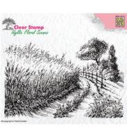 Clear stamp - Country road