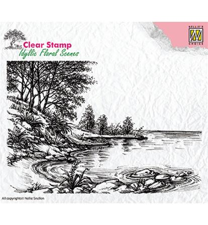 Clear stamp - Waters Edge
