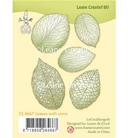 Clear Stamp - Leaves with veins