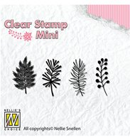 Clear stamp - Christmas Branches - 1