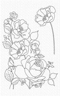 Clear Stamps - Rose garden