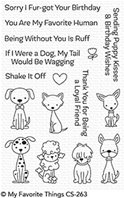 Clear Stamps - Puppy Kisses