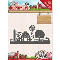 Die - Country Life - Farm border