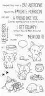 Clear Stamp - Cat-astrophe