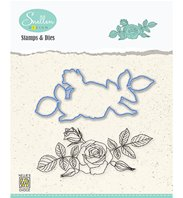 Stamp & die - Set Flowers Rose