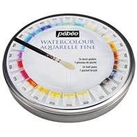 Aquarelle fine - 24 couleurs