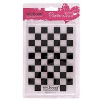 Embossing folder - Chequered