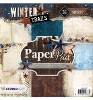 Paper Pad - Winter Trails